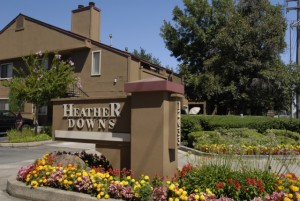 apts california: heather downs
